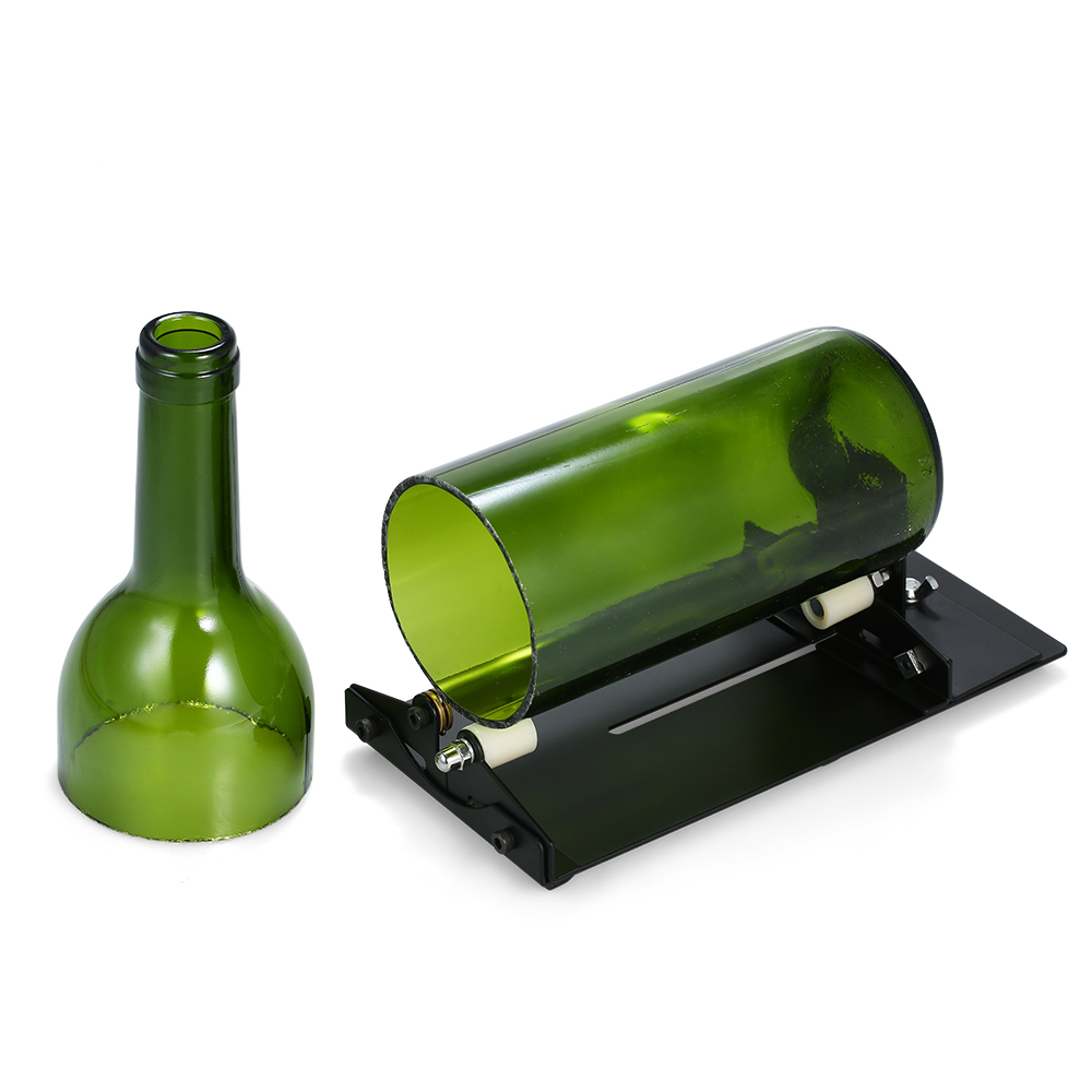 Glass Bottle Cutter Adjustable DIY Bottle Cutting Tool Wine Beer Bottles Cutter For Lampshade Candle Holder Planter