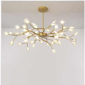 Modern firefly LED Chandelier light stylish tree branch chandelier lamp decorative firefly ceiling chandelies hanging Lighting - DISCOUNT ITEM  32 OFF Lights & Lighting