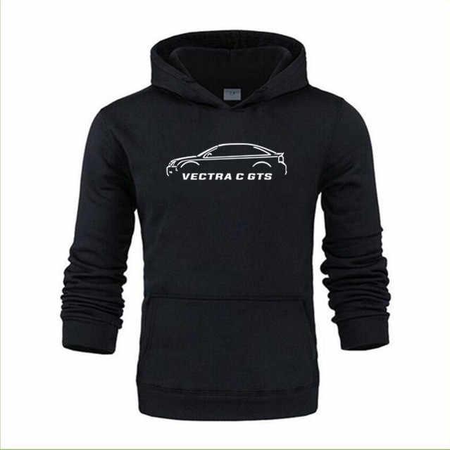 Livraison gratuite de nouveaux détails de haute qualité sur les sweats à capuche hommes 100% coton OPEL VECTRA C GTS inspiré des sweats à capuche de voiture classiques