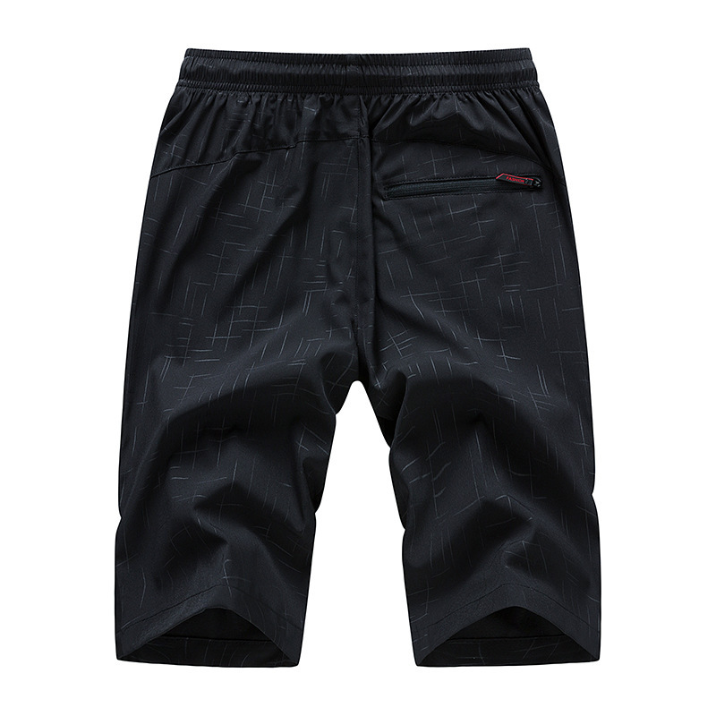 Men Summer Casual Shorts Korean-style 5 Short In Pants Printed Teenager Beach Shorts Trend Men's