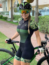 Pro clothing women's bicycle cycling suit sexy suit jumpsuit road bike clothing cycling triathlon summer running tights9d gel 20