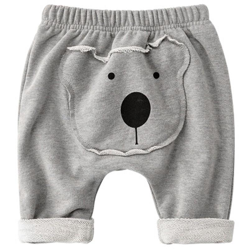 Baby Pants Kids Boys Girls Harem PP Trousers Knitted Cotton Unisex Toddler Leggings Newborn Infant Clothing