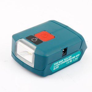 Image 5 - Upgraded Adapter For Makita ADP06 12V BL106/BL02/BL104/BL03/BL02 USB CXT Lithium Ion Cordless Power Source With LED Light