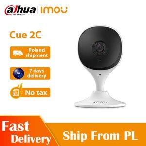 Dahua imou Cue 2c 1080P IP камера для видеоняни и видеоняни H265 Компактная и умная камера для помещений
