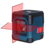 HANMATEK-Nivel láser con línea cruzada LV1, rango de 50 pies, línea vertical y horizontal, autonivelante