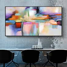 DDWW Wall Painting Abstract Painting Wall Picture Wall Art Canvas Print for Living Room Home Decor No Frame painting canvas wall decor art picture canvas print painting abstract pattern blue yellow for living room home decor no frame