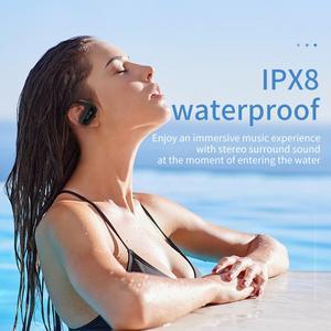 Image 4 - Cyboris Swimming Bluetooth Earphone Ipx8 Waterproof 16GB Wireless Mp3 Player Headset Sports Bathing Running Wireless Earbud