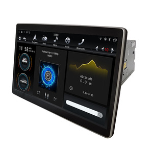"""Image 4 - 12.8"""" Rotation IPS screen PX6 Tesla Style android 9.0 double 2 din car universal gps dsp multimedia radio No DVD player wifi usb"""
