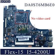 KEFU DA0ST6MB6E0 Laptop motherboard for Lenovo Flex-15 original mainboard I5-4200U