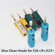 2 en 1 9 + colle tête de nettoyage pas de mal Lcd utilisation tactile pour séparateur de verre OCA outil de suppression verre tactile Sceen tête de polissage