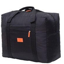 Портативный многофункциональный сумка складной дорожный сумки нейлон водонепроницаемый сумка большой емкость рука багаж бизнес поездка путешествия сумки