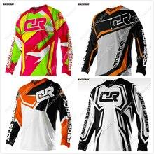 цена на RACESTARS 2020 Wholesale Motorcycle Jerseys Moto XC Motorcycle GP Mountain Bike Motocross Jersey XC BMX DH MTB T Shirt Clothes