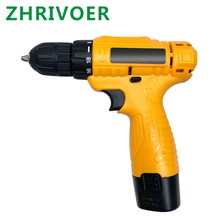 12V pistol drill multifunctional electric hand drill household charging drill electric screwdriver tool electric driver drill electric energomash ds 500