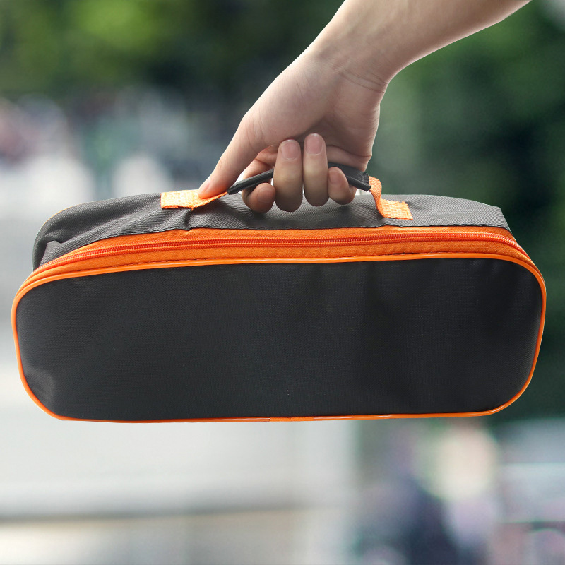 Simple Practical Tool Bag Fashion Polyester Storage Handbag Portable Multi-function Vehicle Tool Storage Bag 31 X 17 X 11CM