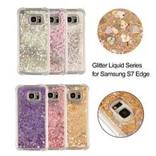 Bling Quicksand Liquid Case For Samsung Galaxy S8 S9 S10 S7 S6 S5 S10E Plus Edge Cover TPU