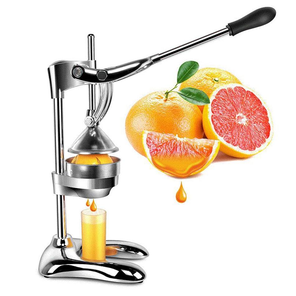 Fruit & Vegetable Tools Stainless Steel Manual Juicer Alloy Fruit ...