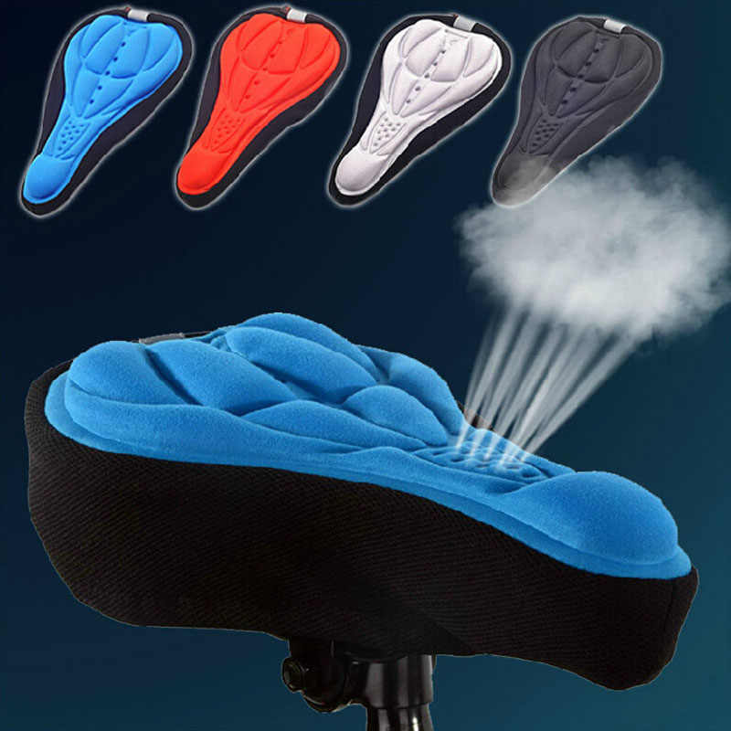 Comfortable Saddle Cycling Seat Covers Cushion Pad cover 3D Bicycle Seat Cover