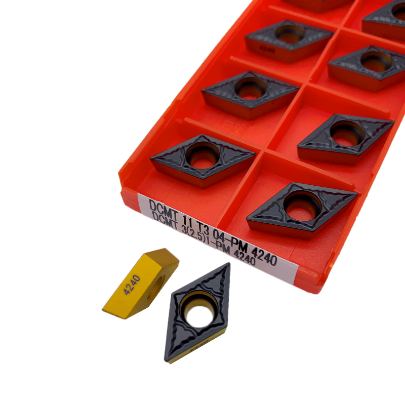 DCMT 11T304 4230 4240 11T308-PM 4225  Internal Turning Tools Carbide Insert High Quality Lathe Cutter Tool