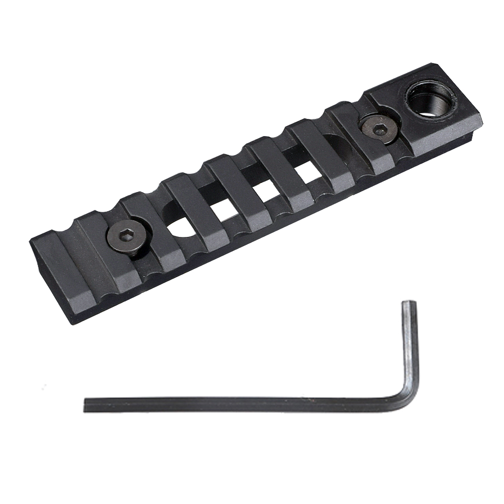 Tactical Keymod Rail Mount Picatinny Weaver Rail Sections 8 Slots Mount Base With QD Sling Swivel Adapter Wrench For Hunting