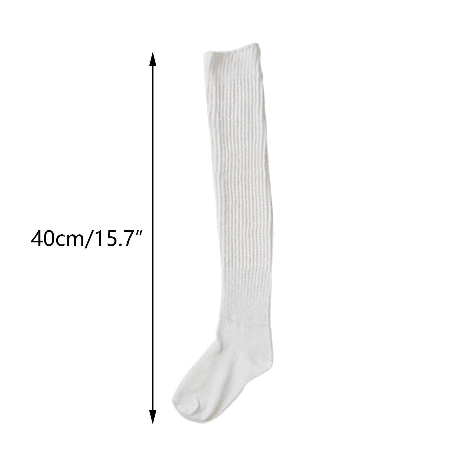 Girls Loose Socks Student Uniform Stockings Super Long Socks Knee High Socks Dress Socks 40CM 180CM