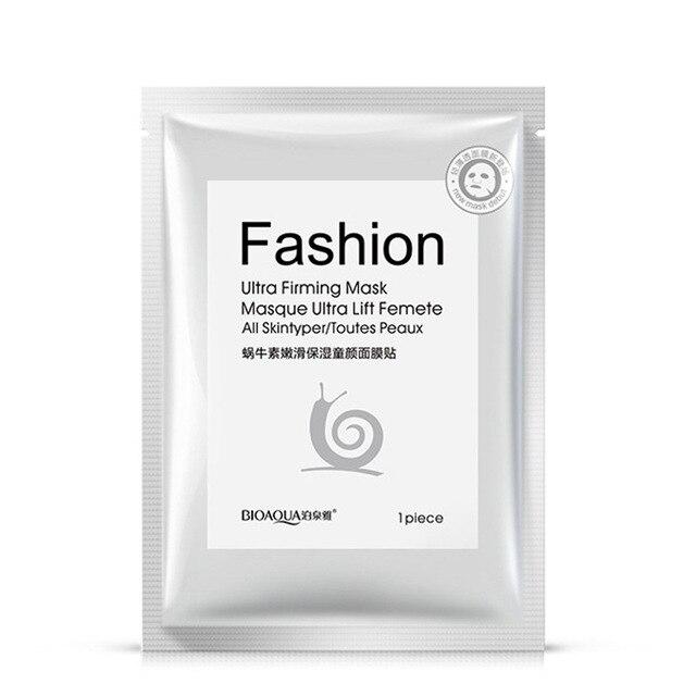snail mask Whitening sheet mask  Moisturizing  korean face mask   skin care  Anti-Aging  Oil-control  facemask 2