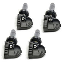 цена на 4pcs Tire Pressure Monitoring TPMS Sensor EV6T-1A150-CB For Ford Ka+ Kuwa Fiesta  C-MAX  For Ford F150 Ranger Mondeo Focus