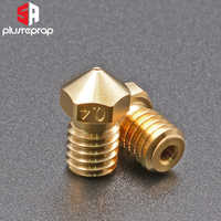 High Quality Series Brass V6 Nozzles for 3D Printer 0.4mm M6 Threaded Nozzle for Titan Extruder 3D Nozzles V5 V6 J-Head Hotend