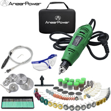 Dremel 260W Mini Electric Drill Engraver Rotary Tool Polishing Machine Power Tool 5Variable Speed Engraving Pen With Accessories wl 800 electrical tool set adjustable speed mini electric drill multifunction engraving pen for sculpture trimming and polishing