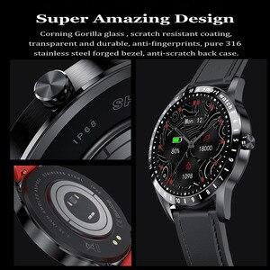 Умные часы для мужчин, монитор сердечного ритма фитнес трекер, 1,39 дюймовый экран трекер активности, мужские наручные часы, умные часы для Android iOS|Смарт-часы|   | АлиЭкспресс