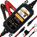 MOTOPOWER MP00205A 12V 800mA Автоматический Смарт-Мотоцикл Зарядное устройство для автомобиля  RV  ATV  лодки