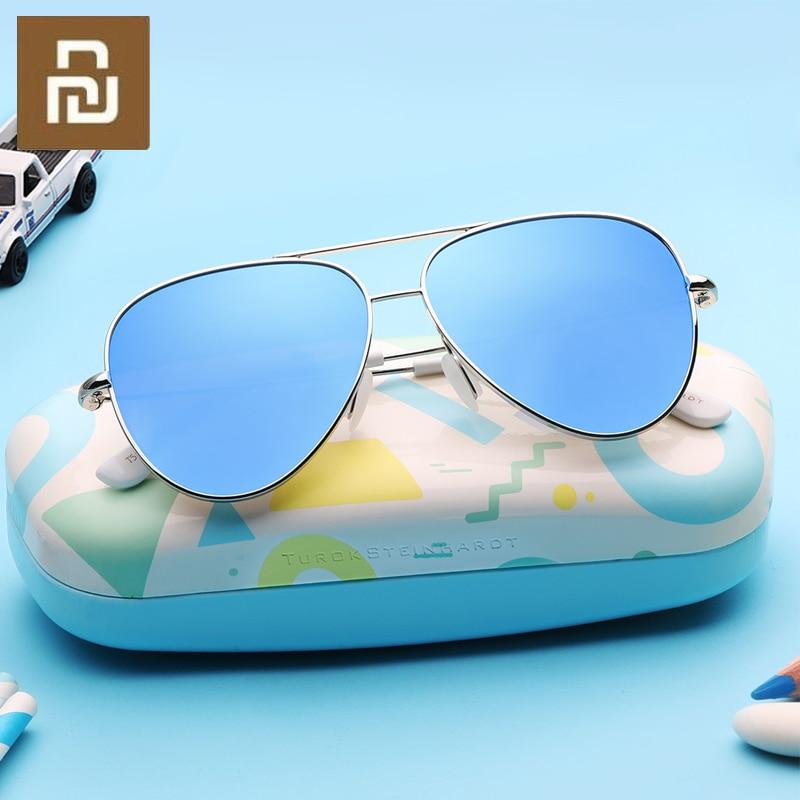 TS Модные Винтажные Солнцезащитные очки, Классическая Металлическая оправа, TAC поляризованные солнцезащитные очки с защитой от УФ-излучения...