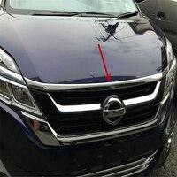 WELKINRY auto auto abdeckung für NISSAN SERENA C27 2016 2017 2018 2019 2020 ABS chrom vorne kopf haube motorhaube trim|Chrom-Styling|Kraftfahrzeuge und Motorräder -