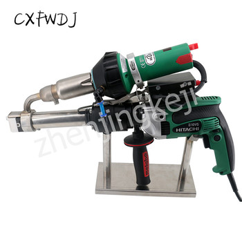 Extruded Plastic Welding Torch PPPE Hot air Squeeze Large Supporting Tip With Flat