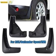 Набор автомобильных брызговиков для Mitsubishi ASX 2013- Outlander Sport/RVR брызговики крыло брызговиков