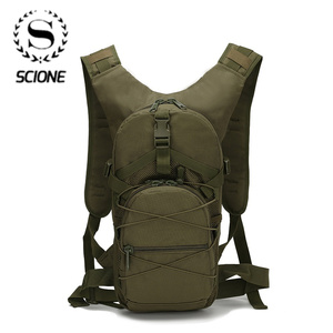 Image 1 - Scione Outside Military Army Green Backpack Waterproof Oxford Casual Camouflage Travel Bag Womens Traveling Backpack Bag