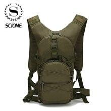 Scione fora do exército militar verde mochila à prova doxford água oxford casual camuflagem saco de viagem das mulheres viajar mochila