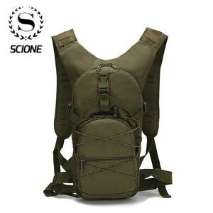 Image 1 - Scione sac à dos vert militaire, sac de voyage imperméable, Oxford décontracté, sac à dos de voyage pour femmes
