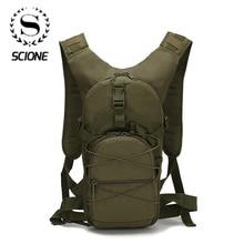 Scione наружный военный армейский зеленый рюкзак водонепроницаемый Оксфорд Повседневная камуфляжная дорожная сумка женская фотосумка