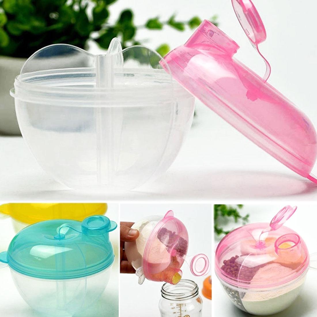 Portable Baby Milk Powder Formula Dispenser Box Feeding Food Storage Container