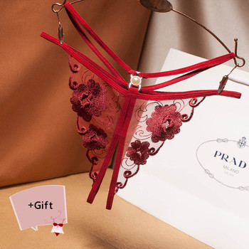 Women Sexy Panties Lace G-String Briefs Lingerie Thong Panties Erotic Underwear Women Bikini Panties Couple Valentines gift New 2019new product women s lace panties 100