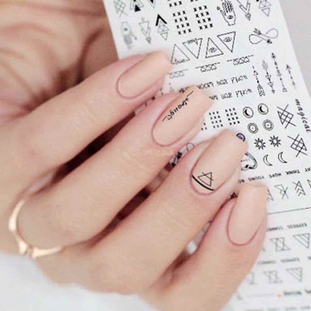 Multi-Patroon Nail Art Water Transfer Stickers Manicure Tip Decal Diy Decor Tool