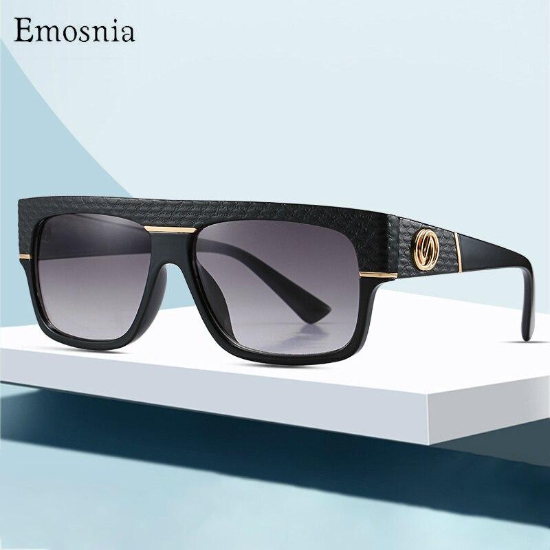 Flat Top Classic Square Sunglasses Men Brand Designer Fashion Women Black Gradient Sun Glasses Shades UV400 gafas de sol mujer|Men's Sunglasses| - AliExpress