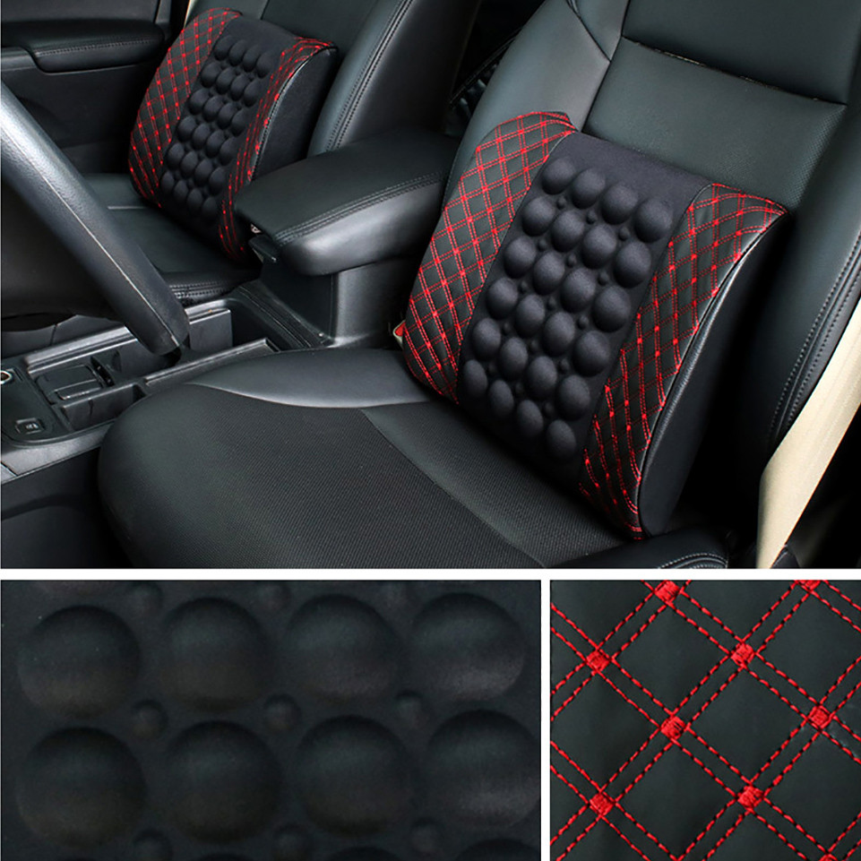 Car Electric Massage Cushion lumbar Massage cCar Seat Back Cushion lumbar support Car Massage Lumbar Cushion