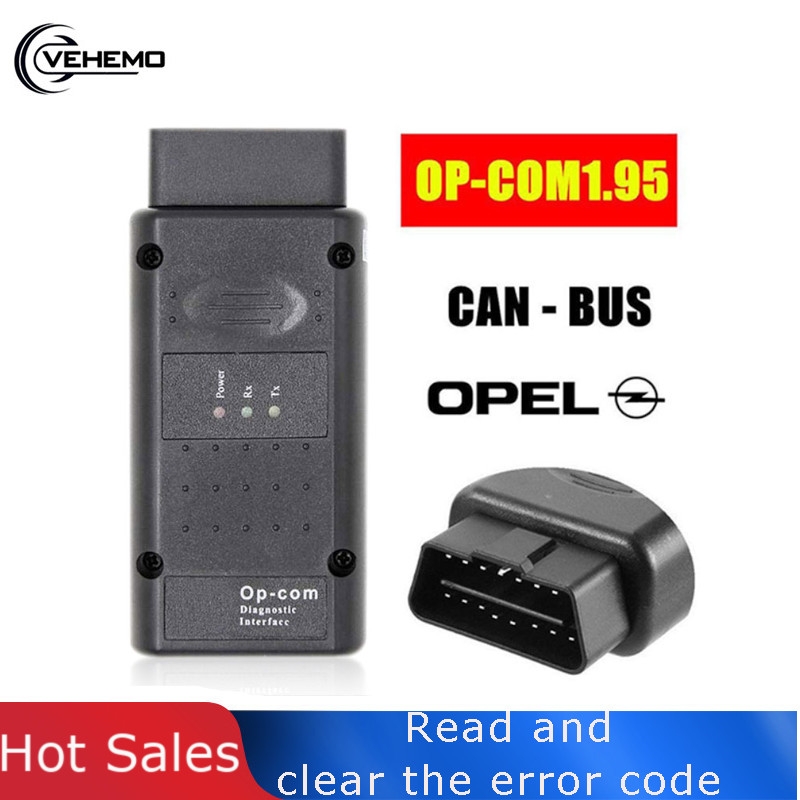 Vehemo V1.99 V1.95 Car Diagnostic Tool Instrument Useful Scanner Automotive <font><b>OP</b></font>-<font><b>COM</b></font> Interface for Opel Zafira-B image