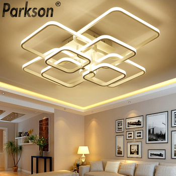 Modern LED Ceiling Lights AC 90-260V Light Fixtures Home Lighting Ceiling Lamp For Living Room Bedroom Dining Room Remote