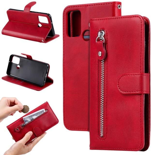 De lujo de cuero PU Flip teléfono caso Huawei Honor 9A 9X 8A 7A 20I 10I 10 Lite magnético cartera caso cubierta Coque
