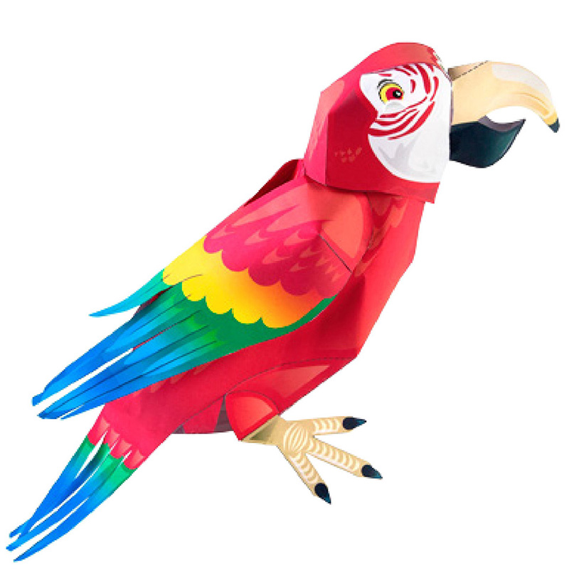 FREE! - The Parrot Paper Craft to Support Teaching on Matilda | 800x800