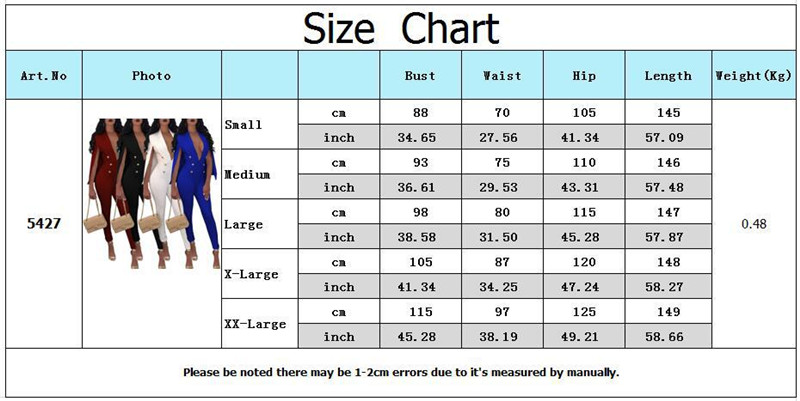 Echoine Women Sexy Jumpsuit V Neck Double Breasted Cloak Sleeve Formal Suit Style Rompers Long Pencil Pants Office Lady Clothes in Jumpsuits from Women 39 s Clothing