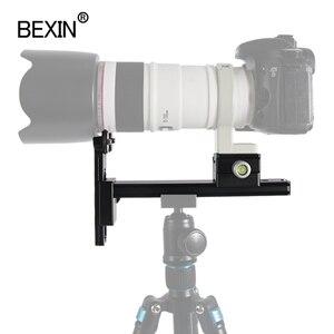 Image 5 - Ống Kính Chụp Xa Giá Nhanh Chóng Phát Hành Đĩa Mount Adapter Kẹp Ống Kính Máy Ảnh Hỗ Trợ Cho Chân Máy Ảnh Bóng Đầu