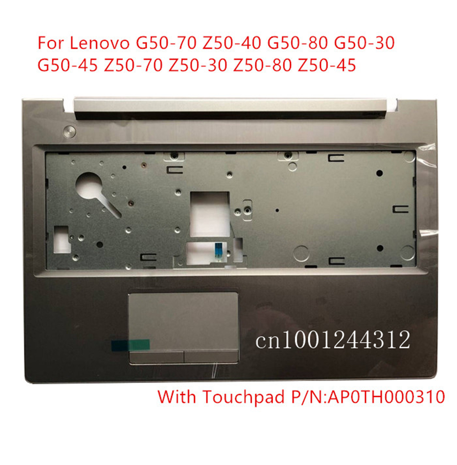 New For Lenovo G50-70 Z50-40 G50-80 G50-30 G50-45 Z50-70 Z50-30 Z50-80 Z50-45 Palmrest Case Bezel Cover AP0TH000310  Silver